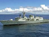 Navío de la Marina Canadiense en ejercicios. Durante el gobierno de Stephen Harper se intensificó el discurso belicista. Trudeau ha enmendado un tanto el rumbo. | FOTO: DAVID A. LEVY