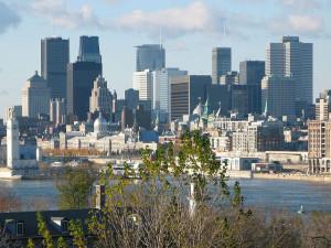 Vista de la ciudad de Montreal. FOTO: WIKIPEDIA