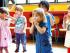 Taller de teatro infantil en el contexto del festival Petits bonheurs.