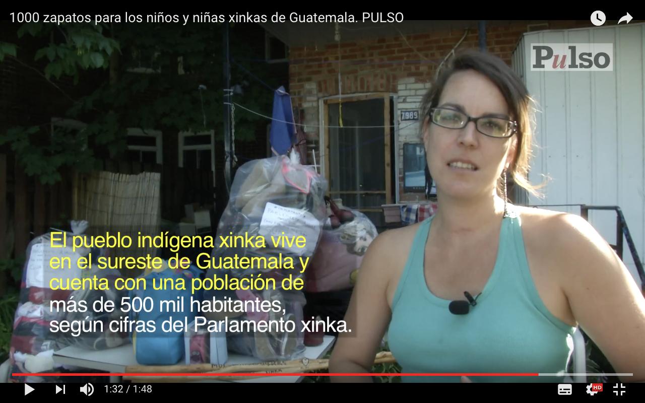 1000 zapatos para los niños y niñas xinkas de Guatemala